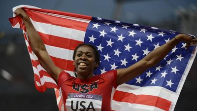 McCorory, U.S. win gold in Olympic 4x400-meter relay
