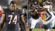 BOURBONNAIS — The Bears returned to practice Saturday and reignited a competition that ended two weeks ago by moving Chris Williams back to left tackle.