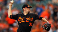 Jason Hammel returns to the Orioles clubhouse