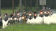 Bike night honors fallen and wounded soldiers