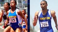 Former Barton Community College Sprinters Veronica Campbell-Brown and Tyson Gay each wrapping up the Olympics, by winning Silver in the 4X100 relays for their perspective countries.