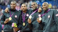 LONDON -- The U.S. men's basketball team proved that talent and team play could overcome a shortfall in size as they beat an inspired Spain 107-100 to win the Olympic gold on Sunday.