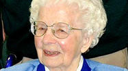 Sister Genevieve Kunkel, a professed member of the School Sisters of Notre Dame for 78 years who was known for her spirit and positive attitude, died Wednesday at the age of 101 from complications after hip surgery.
