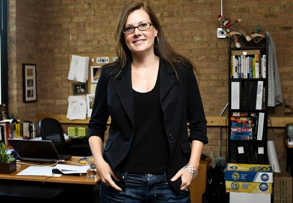 After working for a decade as president of Jellyvision Lab, Amanda Lannert became the Chicago technology company's CEO last year.