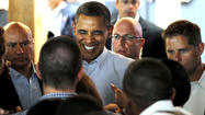 "President Barack Obama criticized the newly minted Republican team of Mitt Romney and Rep. Paul Ryan during a series of hometown fundraisers Sunday, accusing the pair of trying to sell an economic plan of ""trickle-down fairy dust"" that doesn't work."