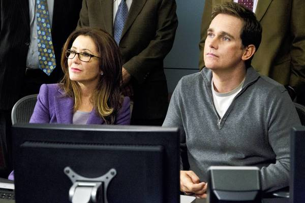"Mary McDonnell and Phillip P. Keene star in ""Major Crimes."""