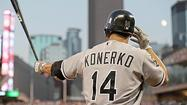 <b>Paul Konerko's</b> recovery from a concussion will be measured by the results of a thorough Monday examination  at Rush University Medical Center.
