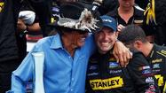 Marcos Ambrose notches Watkins Glen repeat in wild finish, Clint Bowyer is 4th
