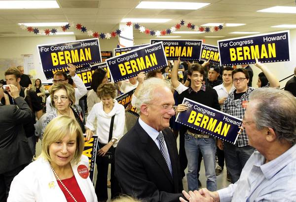 Rep. Howard L. Berman ran a genteel campaign in the primary but has turned sharper toward colleague and opponent Brad Sherman as the November election approaches.