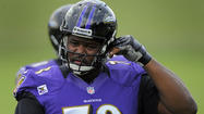Bryant McKinnie: 'The weight is going down south'