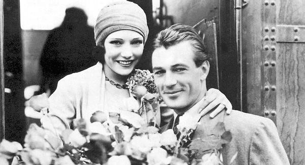 Lupe Velez, pictured here with longtime lover, Gary Cooper.