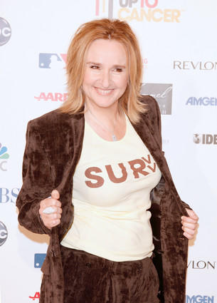 Singer Melissa Etheridge was diagnosed in 2004 and has been one of the biggest celebrity mouthpieces for breast cancer awareness. (Photo Copyright Kevin Winter/Getty Images)
