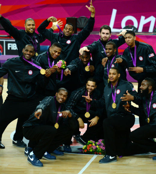 London 2012: Team USA's Gold Medalists: The U.S. Mens Basketball Team took gold on August 12 against Spain in a close match.