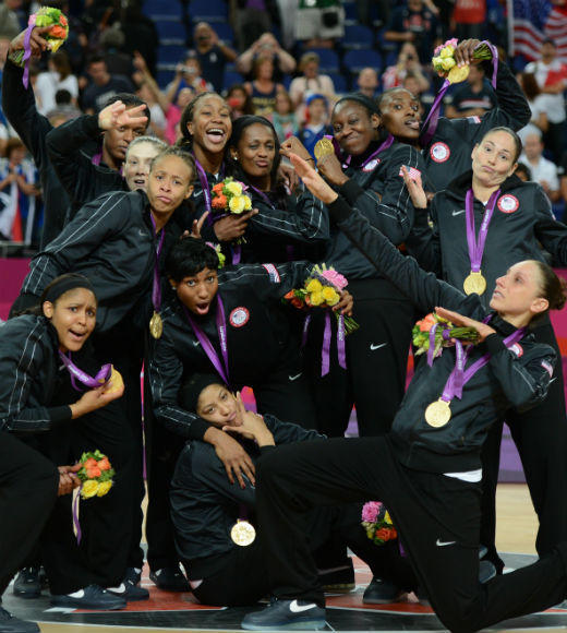 London 2012: Team USA's Gold Medalists: The U.S. Womens Basketball team beat France on August 11 to clinch the gold medal. It is the teams fifth consecutive gold medal.