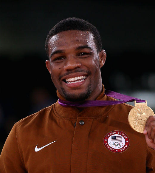 London 2012: Team USA's Gold Medalists: Jordan Burroughs took gold in the mens freestyle wrestling 163 lbs. final on August 10.