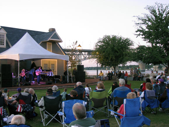 Rhythms on the Riverwalk returns Sept. 7