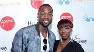 Dwyane Wade keeps in step during event-filled charity bash