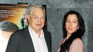 George Soros and Tamiko Bolton: 42-year difference