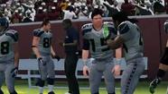 Seahawks jonesing for a chance to try their favorite team out in the newest edition of Madden won't have to wait as long as usual this year. EA announced Monday that the Seahawks would be featured in the game's demo edition, which will be released tomorrow.
