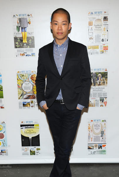 Designer Jason Wu  attends the Off Duty Summer Pool Party Hosted By The Wall Street Journal at The James Hotel on June 13, 2012 in New York City.