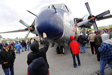 This C-119 Flying Boxcar will be open to the public to see at the Open Airplane Afternoon on Sunday, Aug. 19