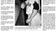 To the sports fans and careful readers who called or wrote us about the Almanac item on Monday, thank you. And yes, we know that the caption about Mickey Mantle was wrong. But thanks for sharing. We appreciate hearing about such errors and ask you to keep calling us or sending emails.