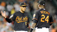 The Orioles first tested Manny Machado back in spring training, when they brought the then 19-year-old to big league camp to play in several Grapefruit League games. The 2010 No. 3 overall pick dressed in the auxiliary clubhouse away from the major league camp invitees. He wore a jersey with the No. 85 on it that, initially, didn't have his last name on the back.