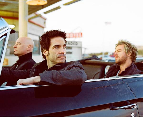 Train's Jimmy Stafford, Pat Monhhan and Scott Underwood perform Aug. 19 at Mohegan Sun.