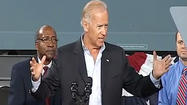 Vice President Joe Biden visits Danville, Floyd, Wytheville