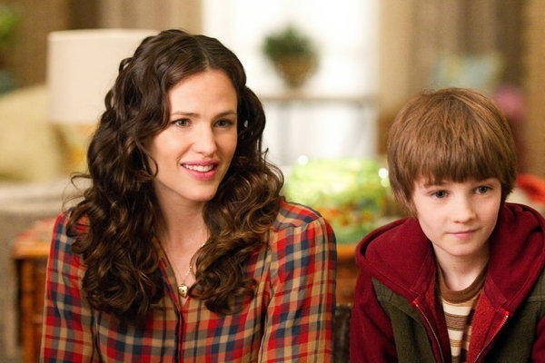"Jennifer Garner and CJ Adams star in ""The Odd Life of Timothy Green."""