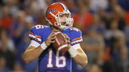 Gators quarterback Jeff Driskel suffers shoulder injury