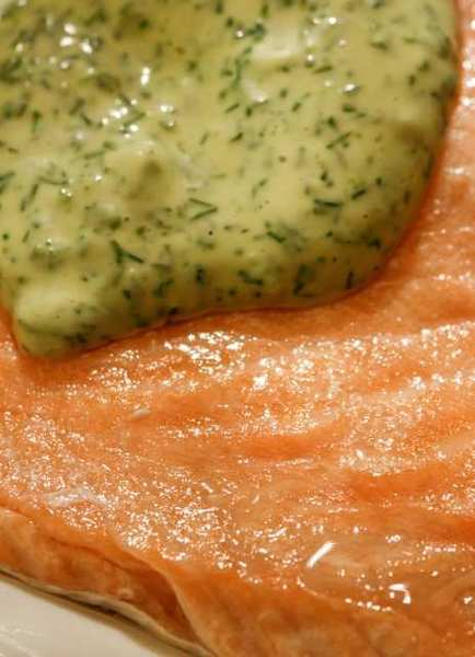Thanks to a fantastic season, diners will be able to really enjoy salmon, including with dill mayonnaise.