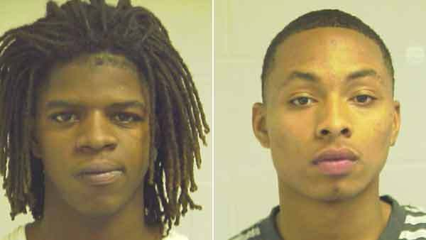 Elijah Robinson (right) has been charged in the robbery of a Cicero jewelry store and a warrant has been issued by police for Jamar Iszerk Lee in connection with the same robbery.