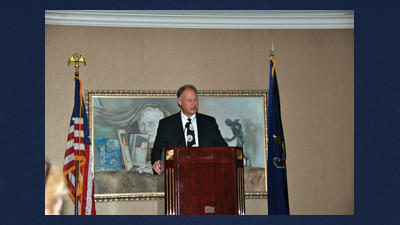 U.S. Mark Critz, D - Johnstown, talked at a JARI press conference about the status of Congress.