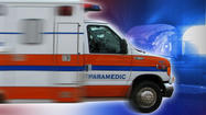 SAN DIEGO -- A Logan Heights resident was injured Tuesday when she slipped while taking a shower in her apartment, fell out a window and plunged about 15 feet to the bottom of a light shaft in the middle of the building, authorities reported.