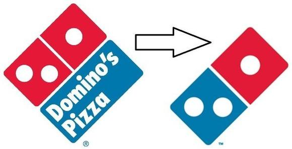 Domino's new logo
