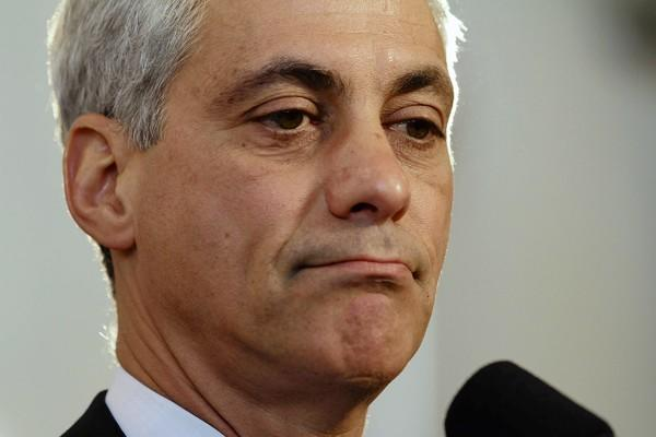 Mayor Rahm Emanuel said he does not support using eminent domain to seize underwater homes.