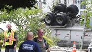 Propane tanker crashes into Port Deposit condominium complex, town center closed off
