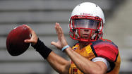 Maryland quarterback C.J. Brown