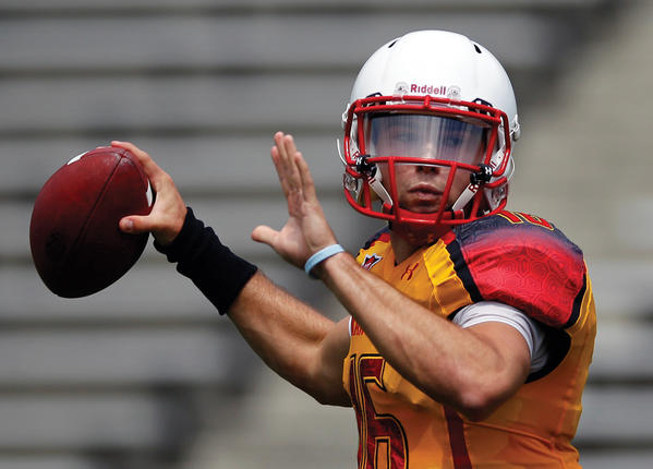 Maryland quarterback C.J. Brown has assumed the job as Maryland's starting quarterback, which comes with many tasks to handle, including leading the Terps to a winning record.