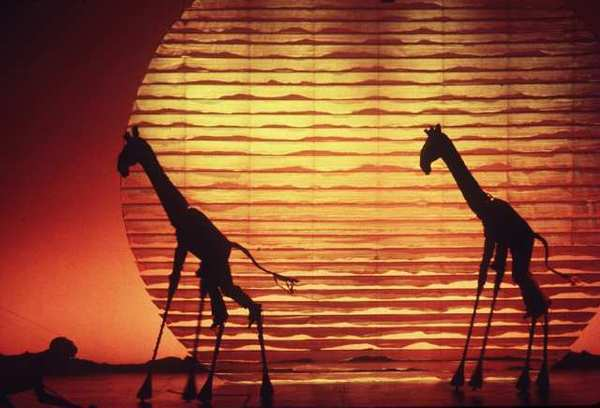 "A scene from Broadway's ""The Lion King."" The Disney musical is set to become the fifth-longest-running show in Broadway history, surpassing ""A Chorus Line."""