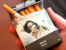 Australian mandated cigarette packaging
