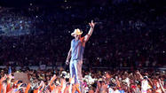 "<span style=""font-size: small;"">When the Brothers of the Sun tour landed in NYC, a new record was broken at MetLife Stadium. With 56,285 tickets sold, the concert broke the record for the most tickets sold at a country show in the New York-New Jersey area. Technically, Kenny Chesney broke his own record with the news, since his Goin' Coastal tour sold over 55,000 last year. For this tour with Tim McGraw, Kenny wanted to keep things simple. ""I didn't want to do 20 shows with Tim and then 30 without him in a different setting. I just wanted it to be what it is and to make each show special because I felt like Tim and I, bringing both our lives and careers to one spot on stage...it deserved for it to be that special."" The Brothers of the Sun tour heads to Detroit, Michigan next.</span>"
