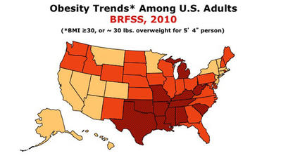 According to a New Study, the Whole Country is Overweight