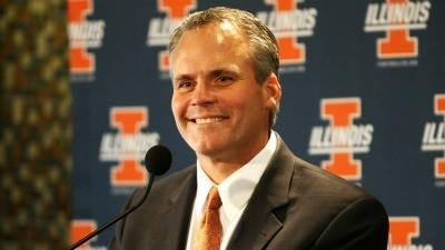 Illinois coach Tim Beckman.