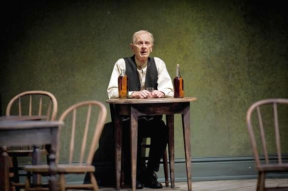 "James Harms played the self-loathing Jimmy Tomorrow in ""The Iceman Cometh"" at the Goodman earlier this year."