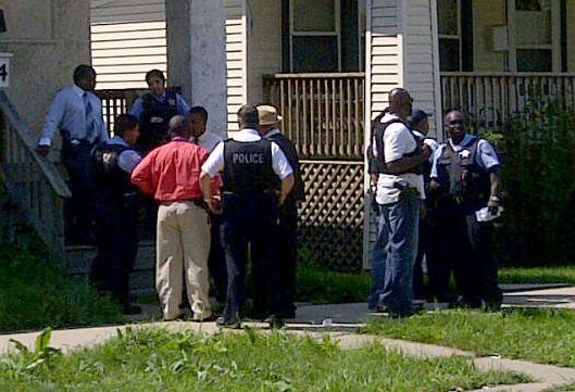 The investigation of where a baby was found unresponsive in Englewood,