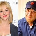 Abby Elliott and Chris Elliott