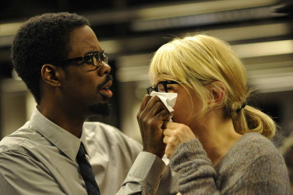 "Chris Rock and Julie Delpy star in ""2 Days in New York."""