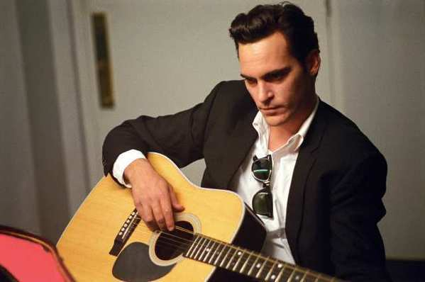 "Joaquin Phoenix recorded the soundtrack for the movie ""Walk the Line."""